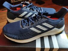 adidas Mens Solar Boost 19 Running Shoes Trainers Navy Blue Sports size UK 14.5