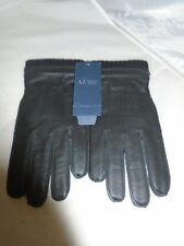 Armani Jeans, Black gloves, Mens, Medium, RRP £99.99