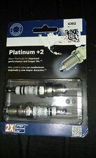 Spark Plug-Platinum +2 Bosch 4302-Pack of 2