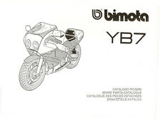CATALOGO RICAMBI BIMOTA YB7 COPY SPARE PARTS CATALOGUE MULTILANGUAGES