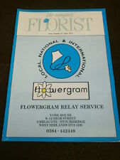 THE COMPLETE FLORIST #41 - JUNE 1991 - SILK FLOWERS & PLANTS