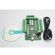 Cncmach3 Usb 4 Axis Stepper Motor Controller Motion Card 0 10v Breakout Board Xs