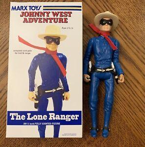 Marx Johnny West Adventure Box Lone Ranger