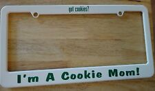 Girl Scouts of America says got Cookies? & I'm a Cookie Mom License Plate Cover