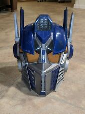 Transformers Optimus Prime Helmet Mask Cosplay Talking Voice Changer