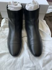 Balenciaga Ankle Boots Studded Leather Suede Size 39 US 81/2 Zipper CUTE
