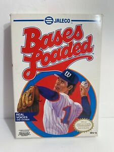Jelco Bases Loaded (Nintendo NES 1987) Box & Game Authentic