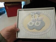 """NIB EXPRESSIONS OF LOVE PHOTO ALBUM BLUE """"ITS A BOY"""" BY RUSS BABY"""