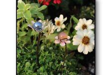 Miniature Dollhouse Fairy Garden - Flower Gazing Ball Set of 2 - Accessories