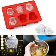 New Darth Vader Star Wars Silicone Ice Tray Mold DIY Ice Cube Chocolate Pudding