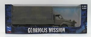 New Ray Army Truck Glorious Mission W/ Army Men Figures 1:32 New Toy