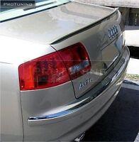 Trunk spoiler for Audi A8 D3 Boot S Line Lip Wing Trim Lid Sedan 4d