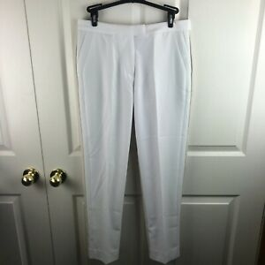 New NWT Women's G/Fore Color Block Pants Snow Stone Size 6 Tan White