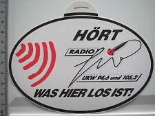 Aufkleber Sticker Radio - UKW (5020)