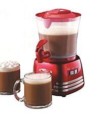 Nostalgia Retro 32-Oz Hot Chocolate Milk Frother Latte Mocha Maker Dispenser NEW