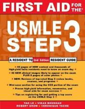 First Aid: First Aid for the USMLE by Vikas Bhushan, Veronique Tache, Robert W.…