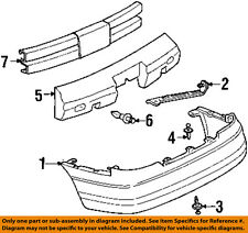 Oldsmobile GM OEM 98-02 Intrigue Bumper Face-Foam Impact Absorber Bar 10444883