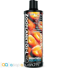 Brightwell Aquatics Zooplanktos-L 500mL Zooplankton for Soft Corals and Clams