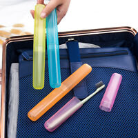 Portable Travel Hiking Camping Toothbrush Protect Holder Case Box Tube Cover  xl