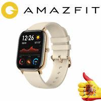 RELOJ GPS SMARTWATCH XIAOMI AMAZFIT GTS BLANCO GOLD Envios Urgentes 24h.ESPAÑA
