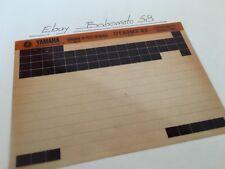 Yamaha DT80MX DTMX 80 1982 5J0 micro fiche parts list catalogue microfiche
