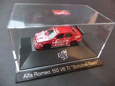 Alfa Romeo 155 V6 TI Scübel. Herpa . 1:87 HO #1027