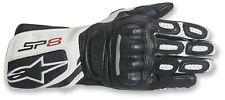 Alpinestars Stella SP-8 V2 Leather Gloves Women's Motorcycle Black/White Medium