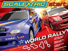 1:32 Scale Scalextric Start World Rally Race Track Set - Scalextric #C1249