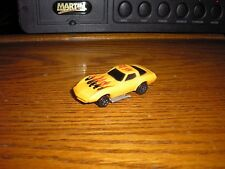 Vintage KIDCO Key Car 1970's Chevy C3 Corvette Orange with Flames Free Shipping