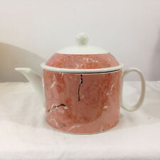 Villeroy & Boch Luxembourg Porcelain SIENA Pink Marble Teapot