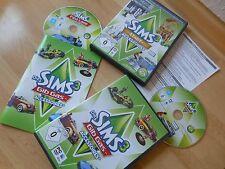 2 Spiele zum Top Preis! Die Sims 3 Stadt Accessoires + Gib Gas Accessoires
