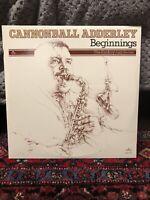 Cannonball Adderley – Beginnings (1976) New / JAZZ Vinyl 2 LP Album