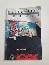 NBA JAM Anleitung - SNES Spielanleitung Booklet Super Nintendo - guter Zustand