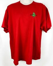 Carolina Girl Womens Plus Size 2XL Red Christmas Gildan Short Sleeve T-Shirt