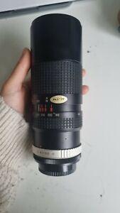 HOYA 100-300mm F/5 Lens For Canon FD Mount Film Cameras Vintage Zoom