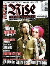 TATTOO RISE n°2; Shin Tokyo Hardcore/ Chicano/ Joe Moo/ Safwan/ Lea Nahon-Buick