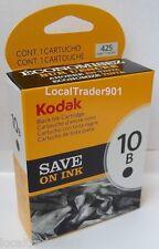 Kodak Black Ink Inkjet Cartridge 10 10B PRICE REDUCED 1163641 Single Unit