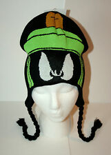 WB Marvin The Martian Helmet Warner Brothers Winter Hat Cap New Tags OSFM NOS