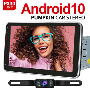 "Pumpkin 10.1""Android 10.0 Car Stereo GPS Radio Navi WIFI RDS USB BT DAB+ Camera"