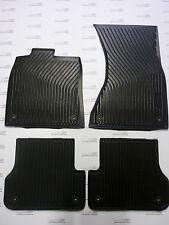 Original Audi A6 Gummimatten für vorne und hinten,A6 Gummifußmatten,A6 Modell 4G