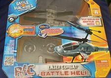 rc jada battle machine laser combat helicopter new