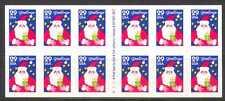 USA 1994 Natale/BABBO NATALE/ANIMATA 12v S/A bklt (n22764)