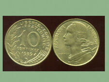 FRANCE  FRANCIA  10 centimes 1989 marianne  ( bis )