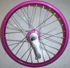 "PINK REAR STEEL 16"" KIDS' BIKE BICYCLE RIM/HUB RW1664"