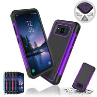 For Samsung Galaxy S8 Active Shockproof Hybrid Rugged Rubber Armor Case Cover US