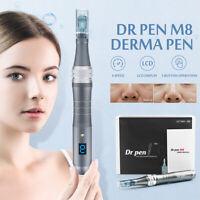 Dr Stylo M8 Électrique sans Fil Dermique Estampe Auto Micro Aiguilles + 2pcs' +A