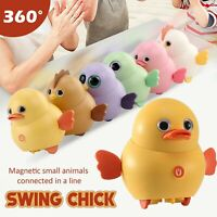 Cute Style Swing Chicken, Duck, Owl Fixed-point Winding Sleek Design For Baby