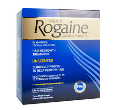 ROGAINE MINOXIDIL 5% LOTION 3 MONTH SUPPLY HAIR REGROWTH TREATMENT
