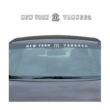 Brand New MLB New York Yankees Car Truck SUV Windshield Window Decal Sticker