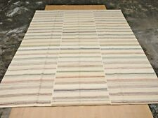 New Contemporary Striped Hand Made Modern Wool 8x10 Gabbeh Oriental Area Rug